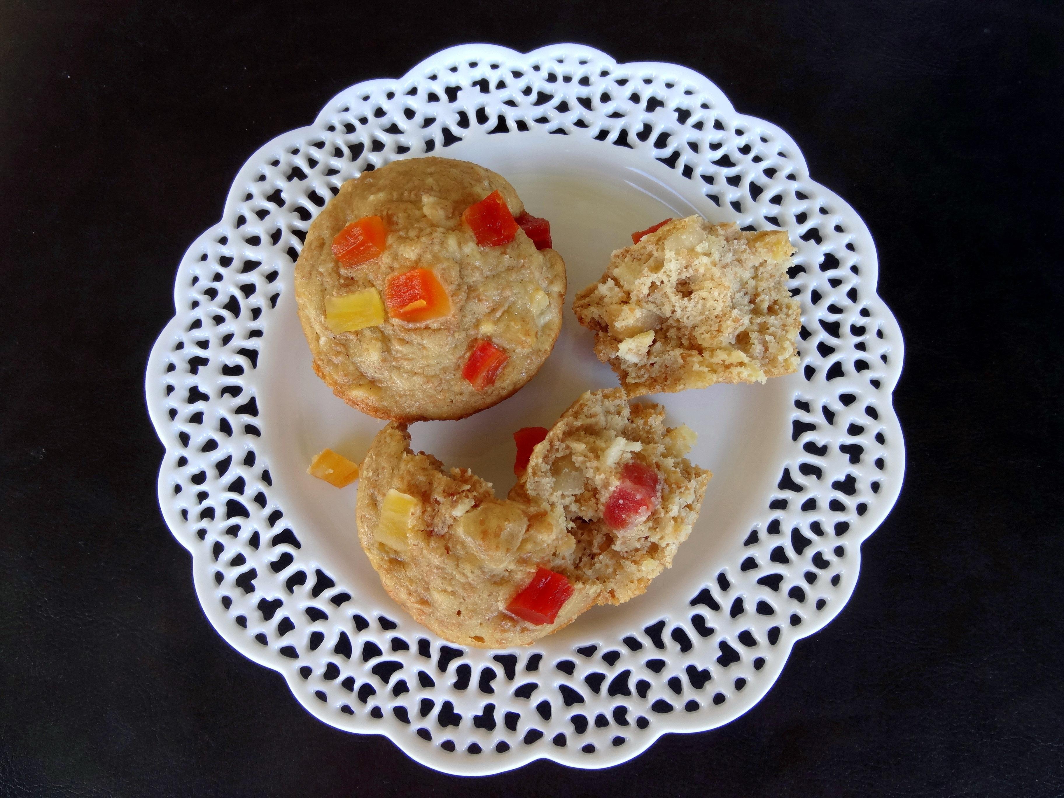 tropical bran muffins