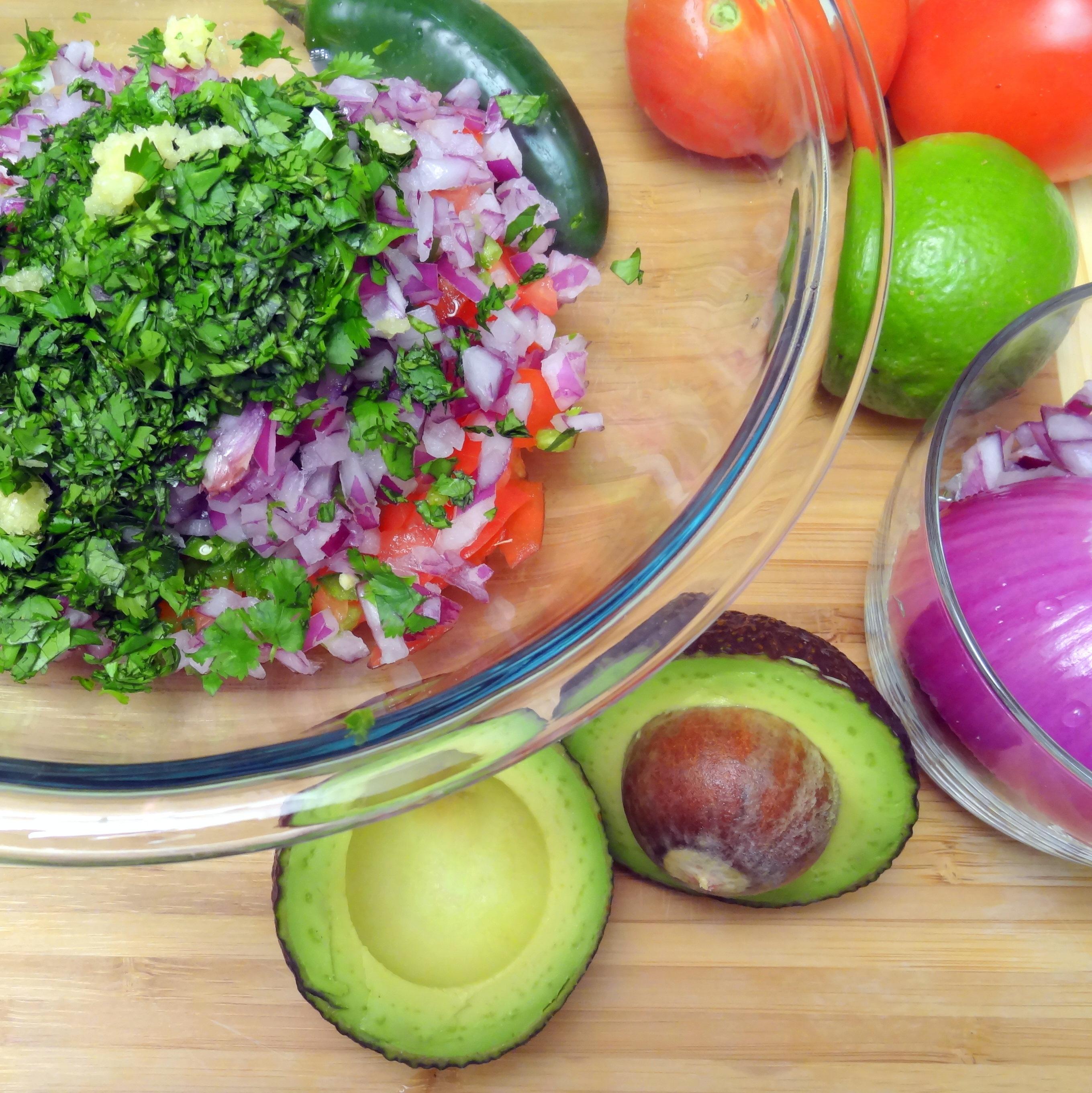 guacamole fixings