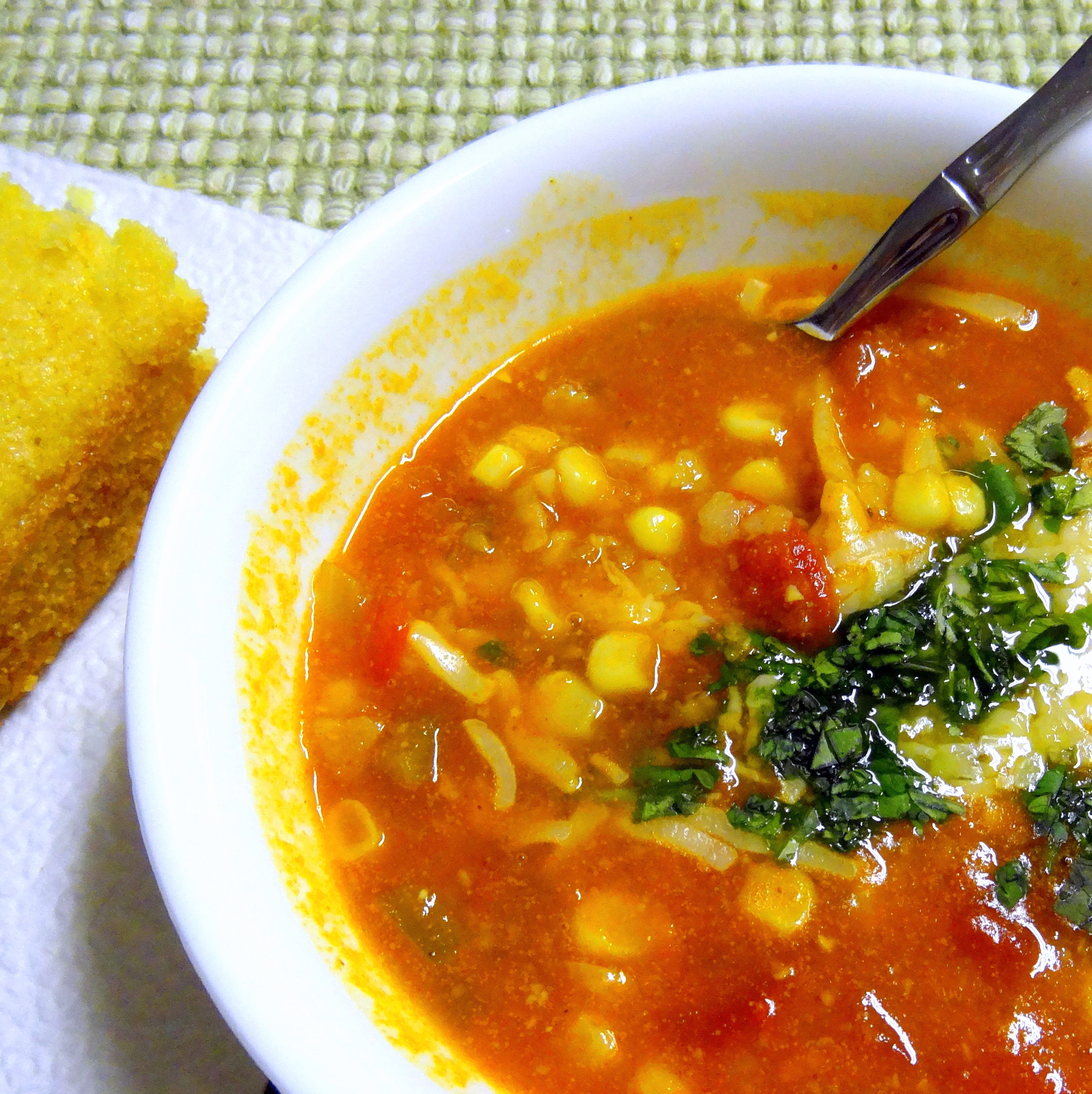Sedona corn soup