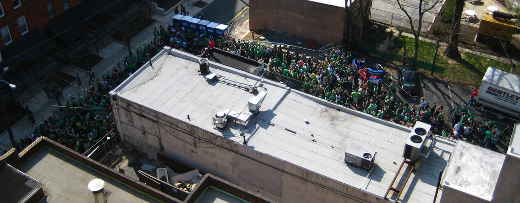 St. Patrick's Day in Philly