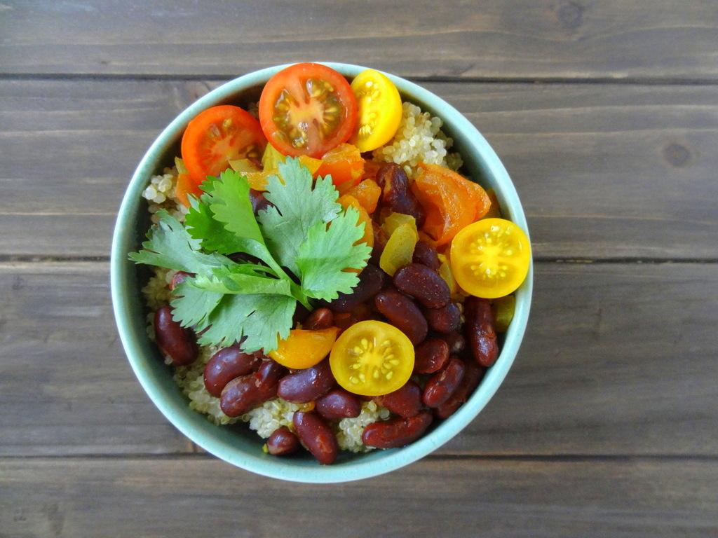 rajma quinoa