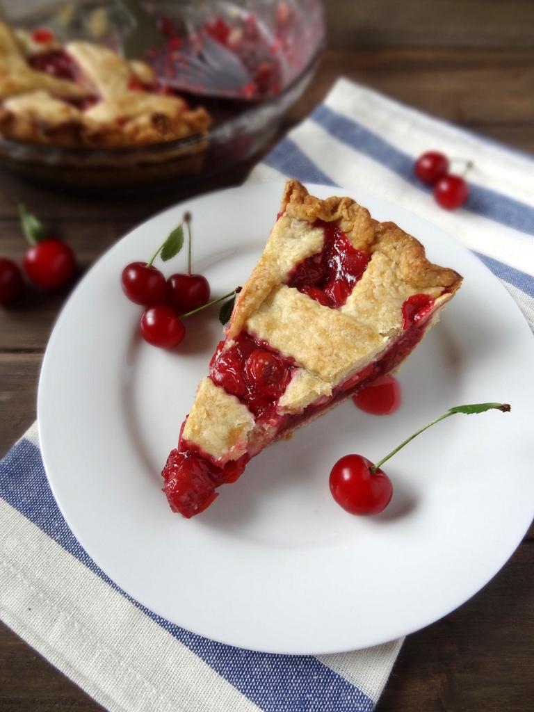 classic tart cherry pie