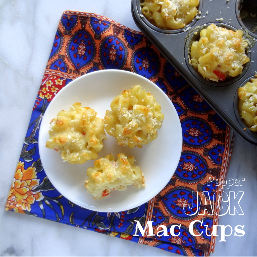 Pepper jack mac cups