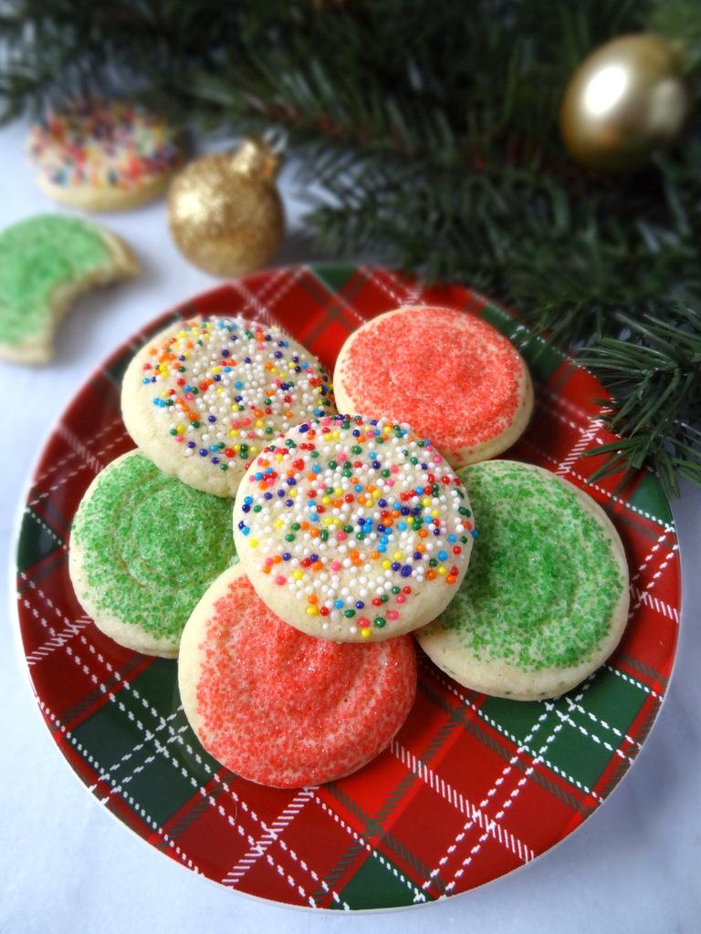 Aunt Della's sugar cookies