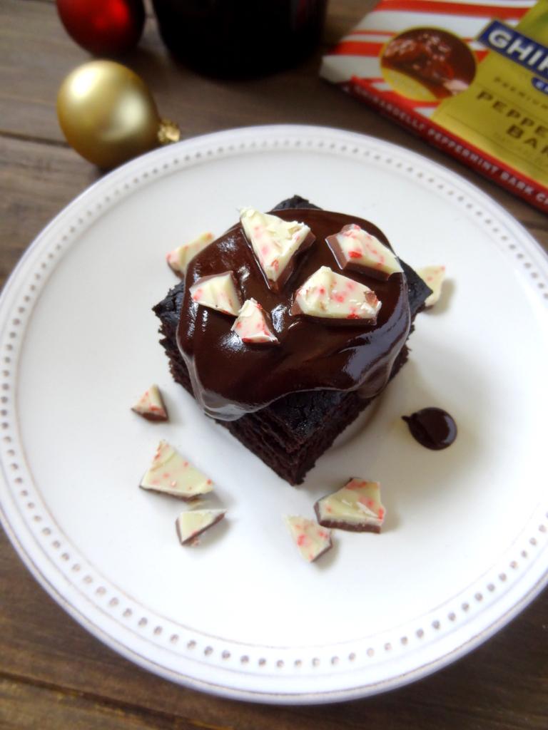 Baileys peppermint chocolate cake