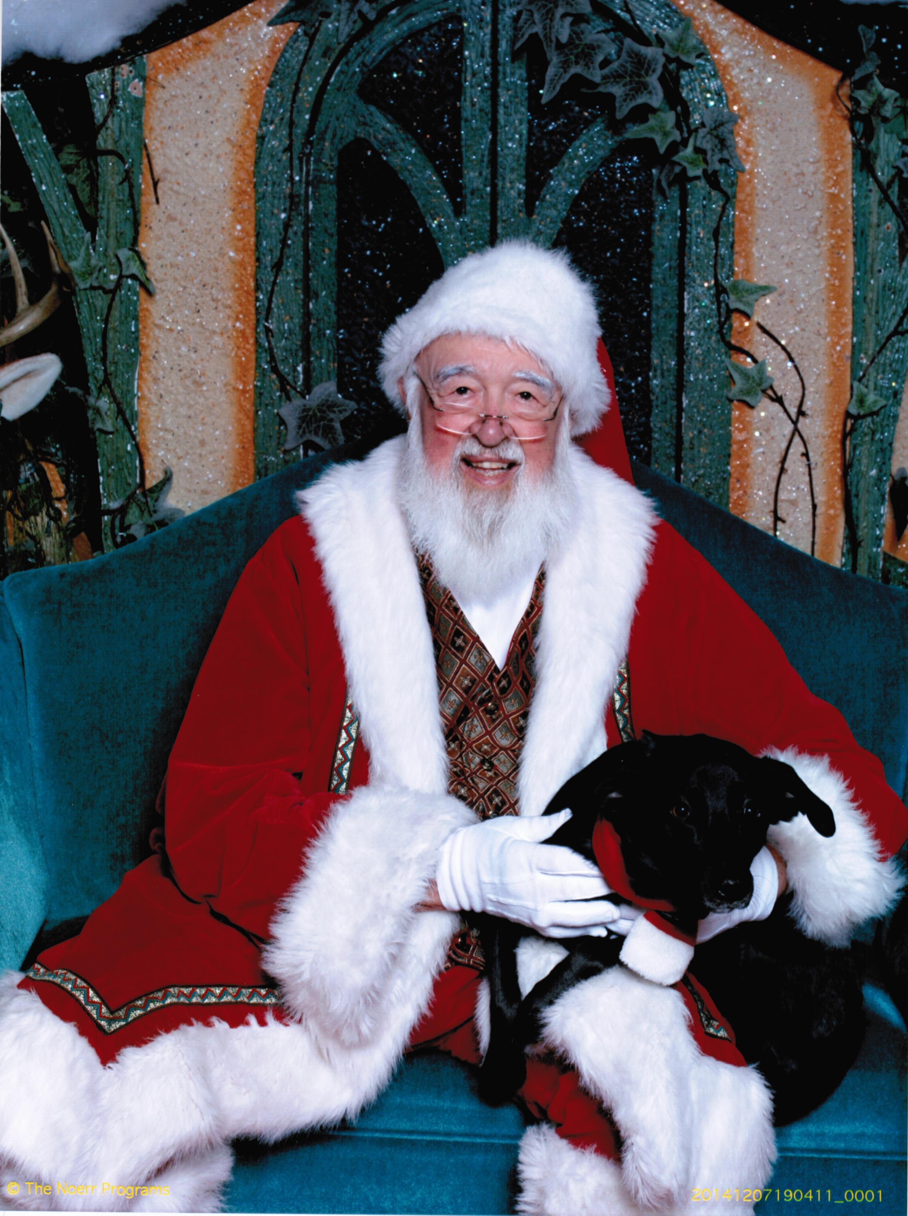 Phoebe & Santa
