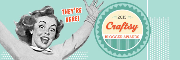 Craftsy blogger awards 2015