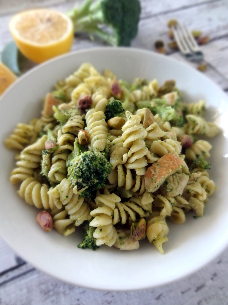 broccoli pistachio pesto