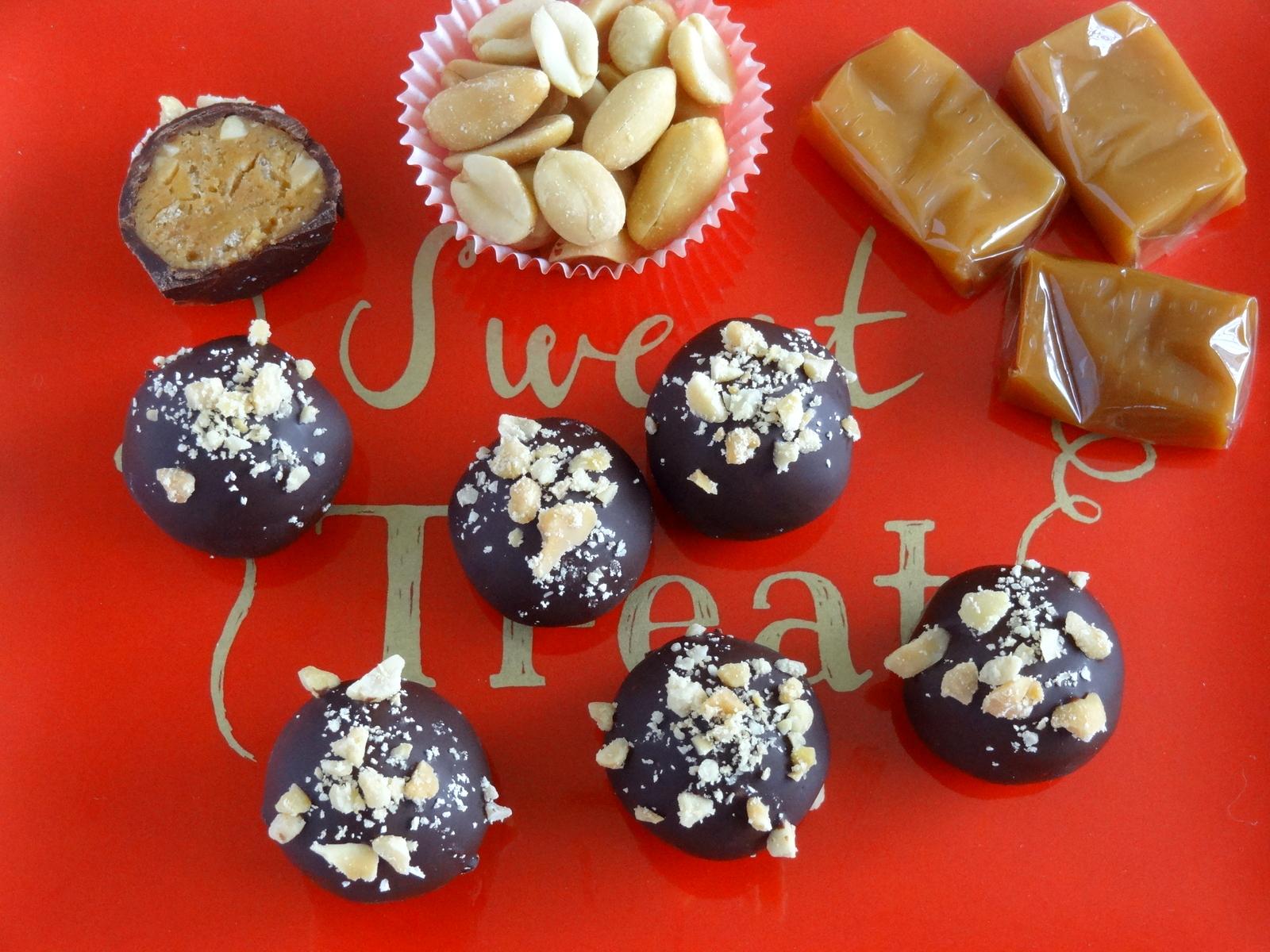 peanut caramel rice krispies candies